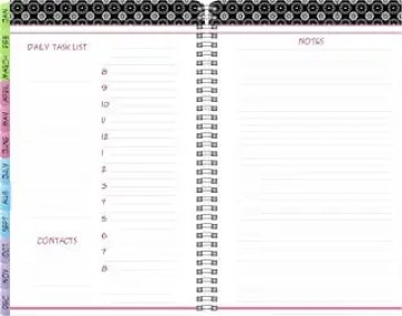 daily planner template 4641