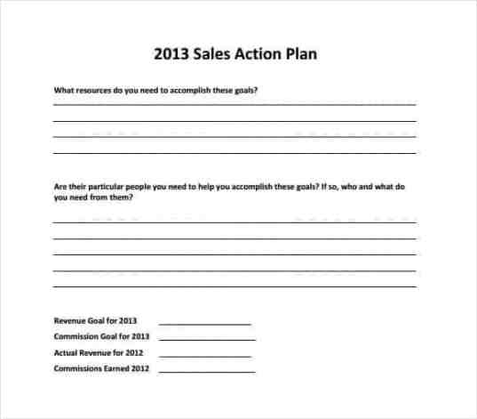 sales plan template 351