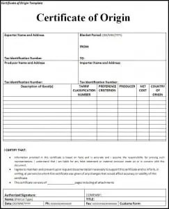 Top 5 resources to get free certificate of origin templates word certificate of origin template yelopaper Image collections
