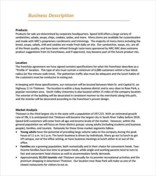 Top Resources To Get Free Restaurant Business Plan Templates - Restaurant business plan templates