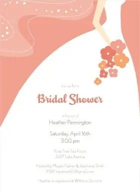 shower invitation template 2544