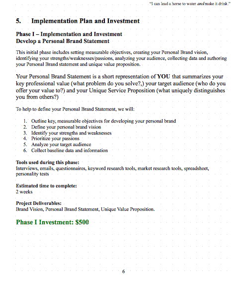 Top 4 Resources To Get Free Investment Proposal Templates - Word ...