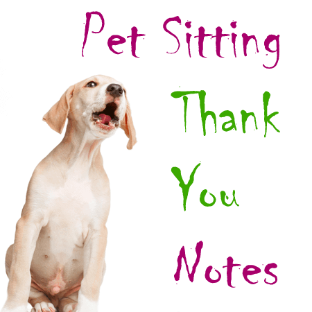 5 Pet Sitting Thank You Note Templates Amp Best Wording