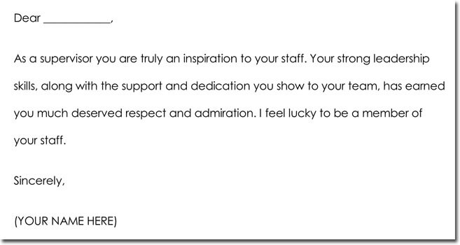 Boss Thank You Note Samples Amp Wording Ideas