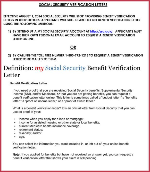 social security verification letter sample poemsrom co