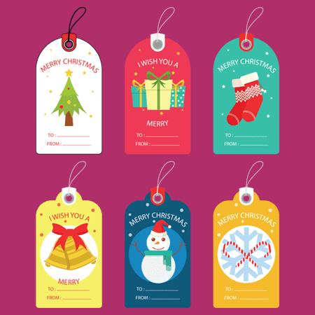 Free Christmas Gift Tag Templates Editable Printable