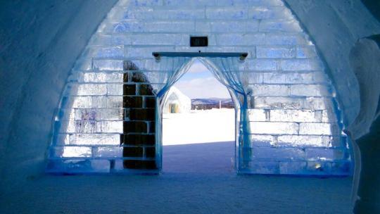 Des hôtels de glace incroyables dans le monde entier