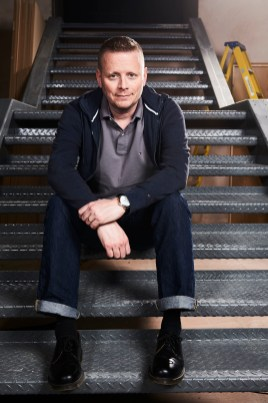 Patrick Ness (writer) - (C) BBC - Photographer: Ray Burmiston