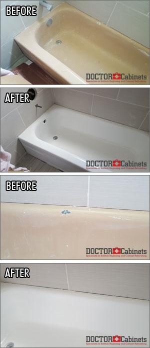 bathtub refinishing and reglazing