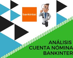 Análisis cuenta nómina Bankinter
