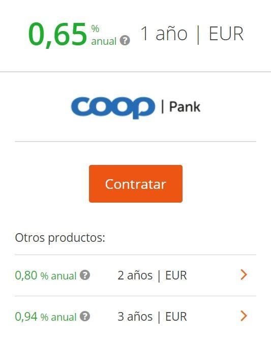 depositos cooppank