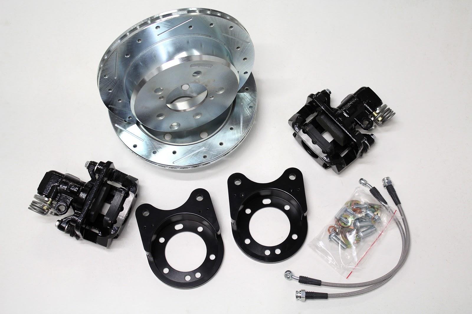 Mopar 10 7 Rear Disc Brake Kit