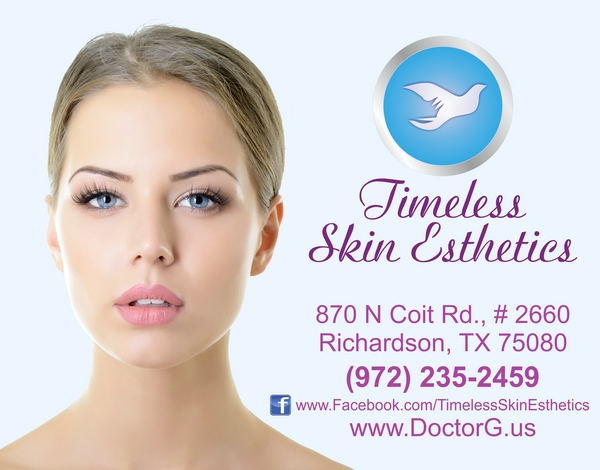 Vladimir Grebennikov, Doctor G, Timeless Skin Esthetics of Dallas, Platelet-rich fibrin, Mesotherapy, Radiesse, Threads, Botox, Ultherapy, Microneedling Micro Needling Sculptra® Aesthetic Latest information on Platelet-rich fibrin, Mesotherapy, Radiesse, Threads, Botox, Ultherapy, Sculptra® Aesthetic, Microneedling from Vladimir