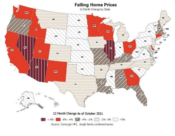home prices us map