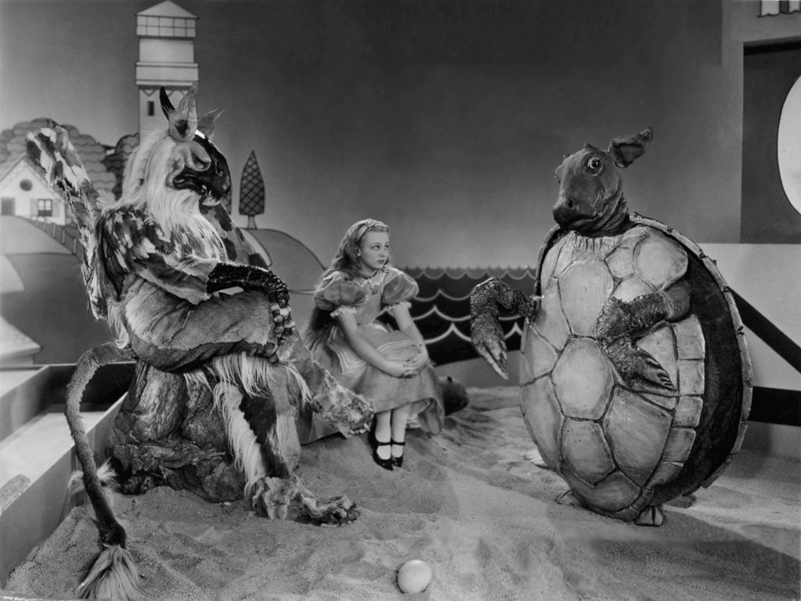Image result for Alice in Wonderland 1931 ruth gilbert
