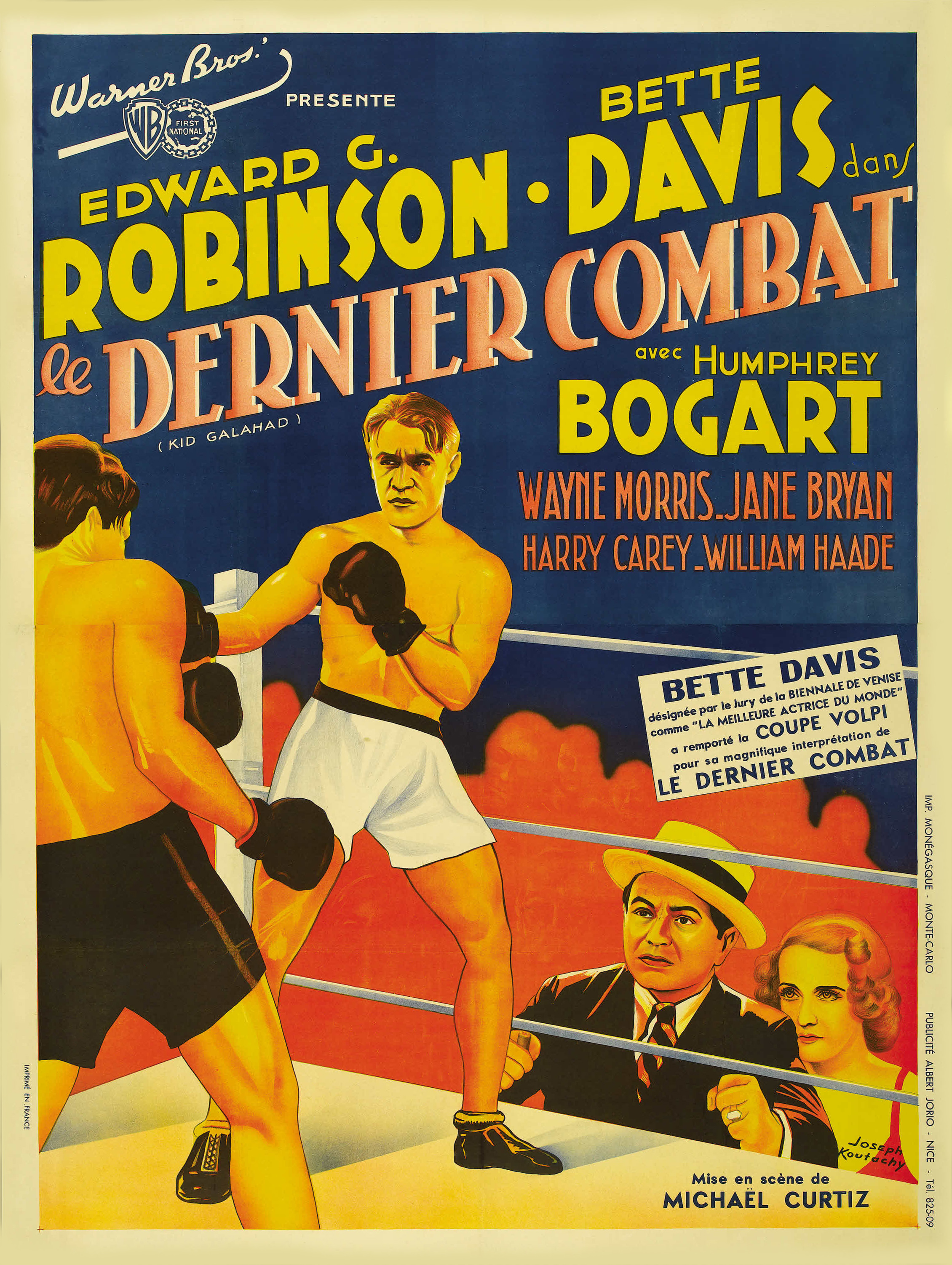 Image result for kid galahad poster