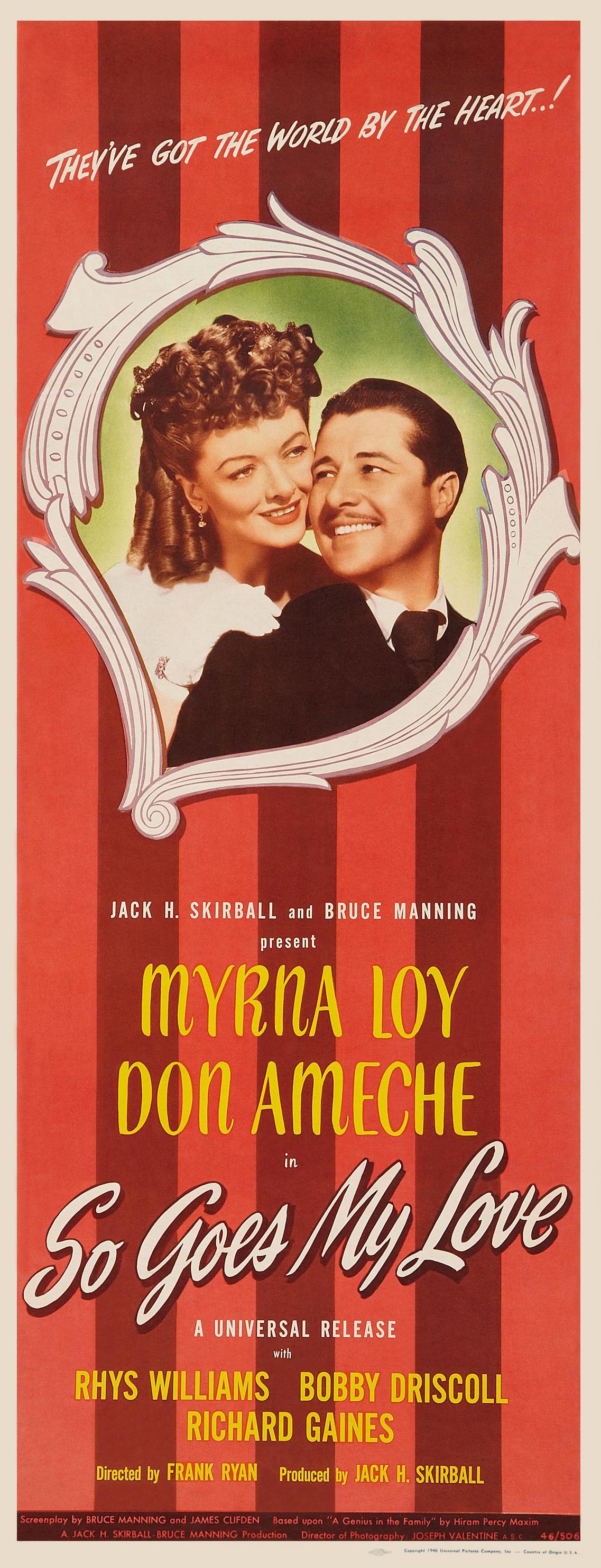 So Goes My Love 1946