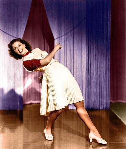 style icon Eleanor Powell