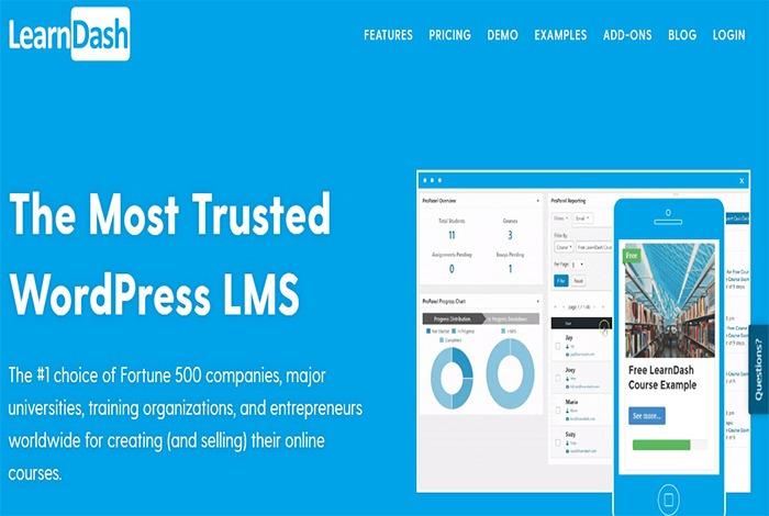 learndash نظام إدارة التعلم الأكثر موثوقية للووردبريس