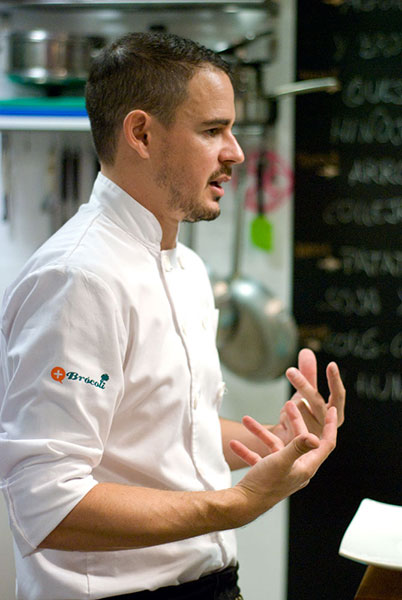 Julio Velandrino, Top Chef, en Flow Cooking
