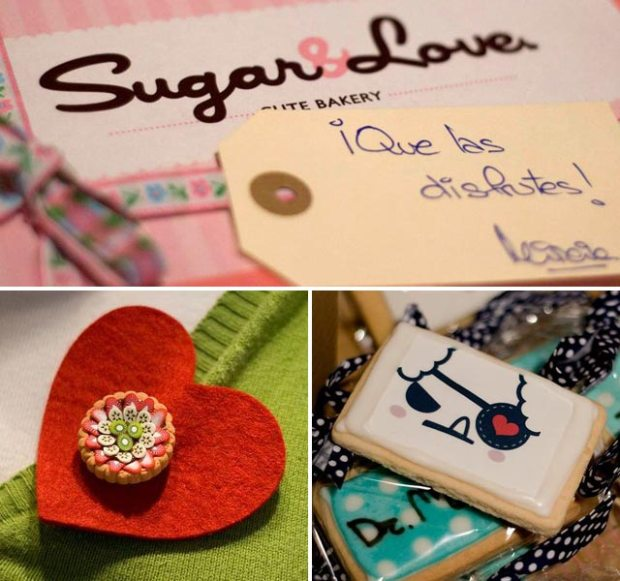Sugar & Love, galletas y broche