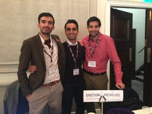 Doctorpreneurs team at the Alternative Medical Careers conference