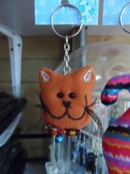 Llavero gato