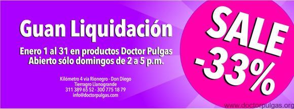 Guan liquidación Doctor Pulgas