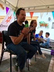 Carlos Naranjo hablando de comportamiento canino.