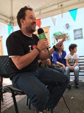 Charla sobre etología de perros y gatos en el Festival de Mascotas de El Retiro.