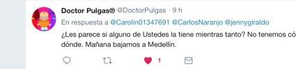 Comentario redes sobre abandono de perrita en El Retiro.