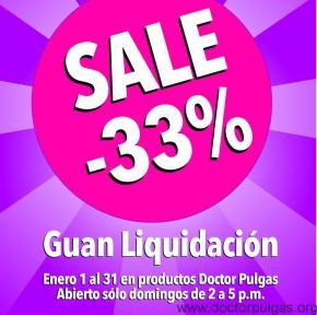 Liquidación tienda Doctor Pulgas