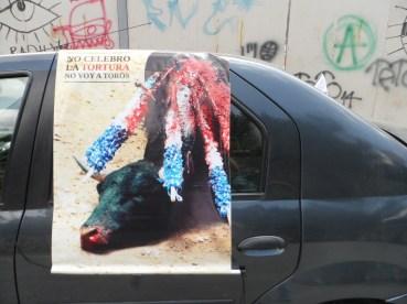 Imagen Caravana Antitaurina en Medellín