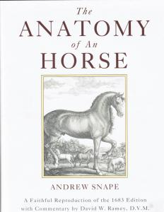 Snape's The Anatomy of a Horse