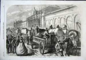 Traffic, 19th century