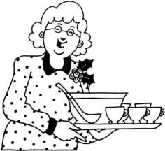grandmother-with-dinner-coloring-page