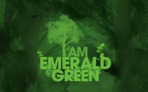 emerald green-wallpaper