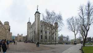 Anne Boleyn's last view of the White Tower