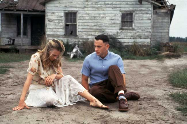 the simple view in life of forrest in the movie forrest gump I suspect she would've flitted back into forrest's life we feel the balance tipping — forrest, though simple what is the moral of the movie forrest gump.