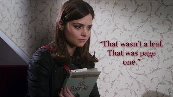 Image result for clara oswald page one