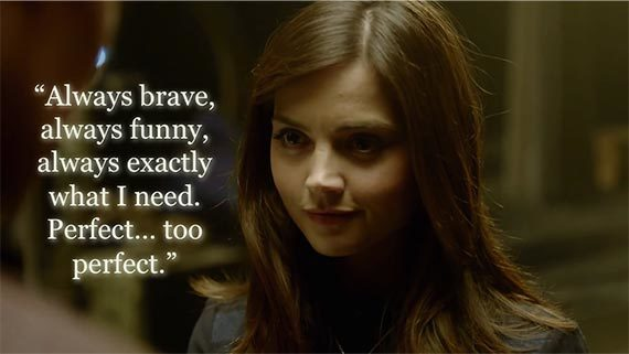 Image result for clara oswald cryptic