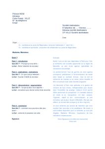 Carrossier Peintre Exemple Cv Lettre Motivation Type Conseils Entretien Recrutement Metier Documentissime