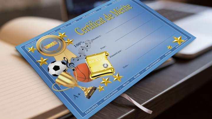 Certificat de Mérite
