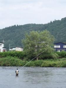 フィッシングエリア(大滝温泉)