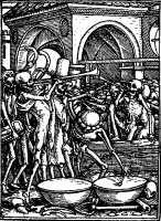 Holbein's Imagines Mortis: All men's bones