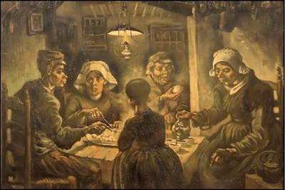 De aardappeleters: Van Gogh over voeding en gezondheid