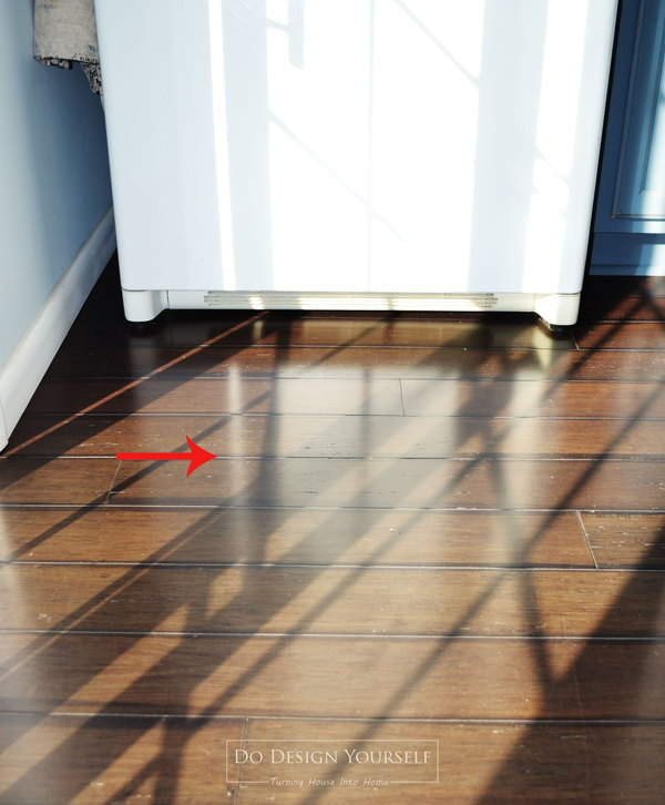 What you should know about bamboo flooring dodesignyourself dmitri pulled out the fridge and moved the planks to close the gap but as winter progressed the crack appeared again so we had two options solutioingenieria Choice Image