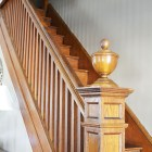 old colonial stairway