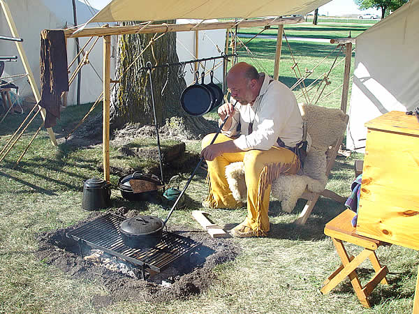 Buckskinner Cooking