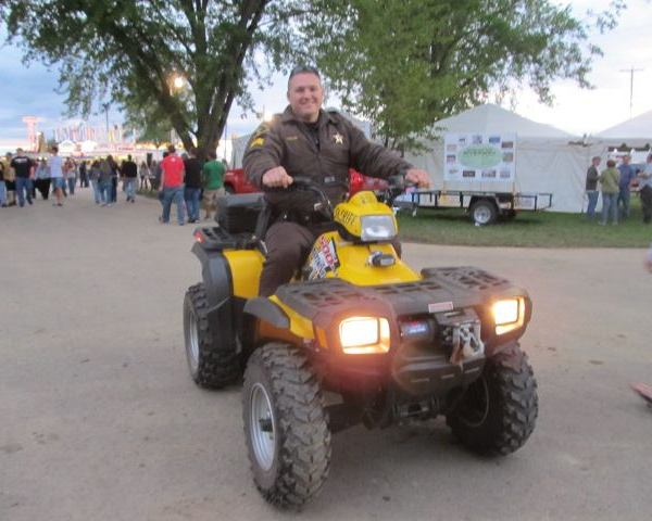 Security at the Dodge County Fair